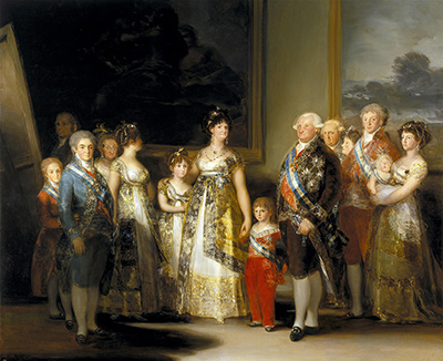 Charles IV of Spain and His Family Francisco de Goya